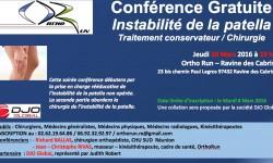 Orthorun - MPFL Dr Ballas, instabilité de rotule
