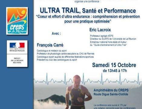 Conférence ultra trail
