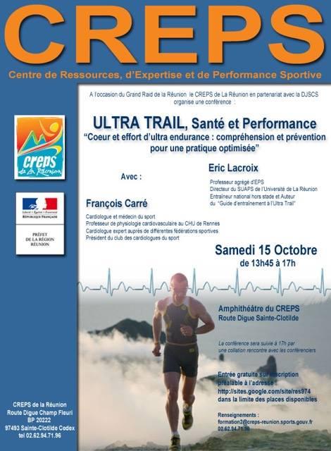 Conférence Ultra Trail performance et santé