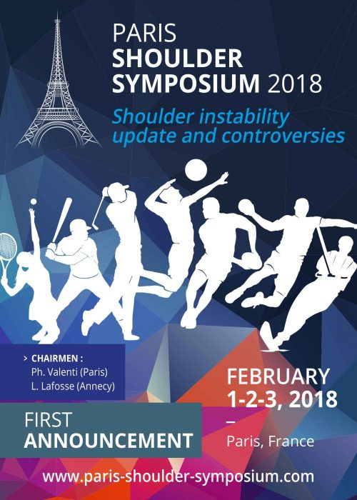 Paris Shoulder Symposium 2018 : Programme