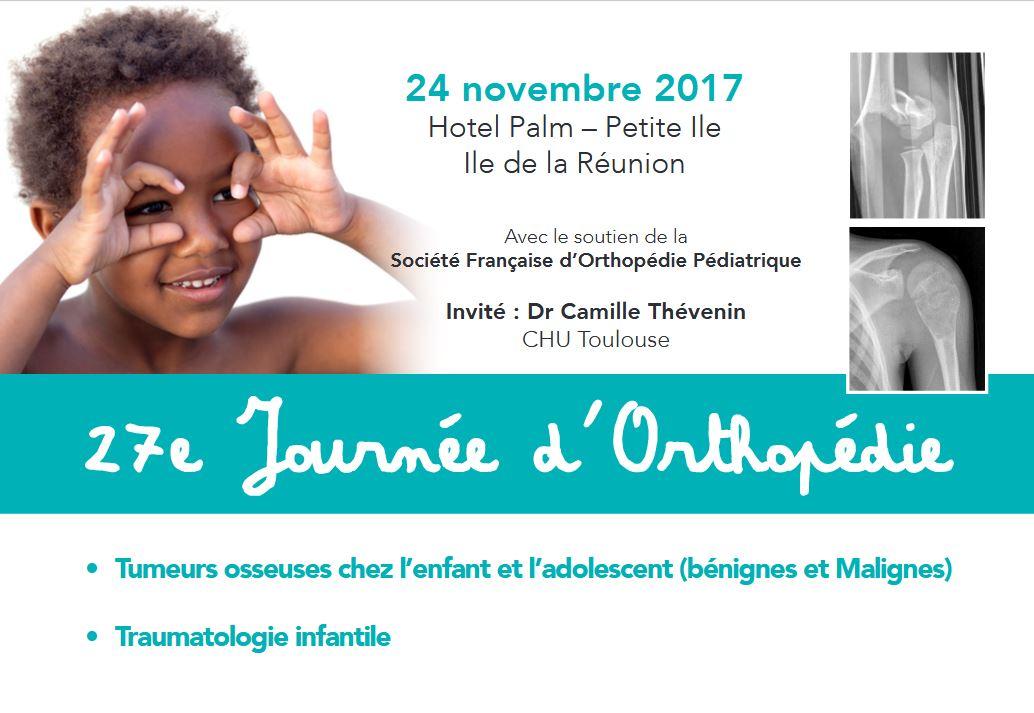 27ème Journée d'Orthopédie Infantile